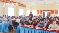 Phó Chủ tịch HĐND tỉnh đề nghị chính quyền huyện Diễn Châu chấn chỉnh cán bộ, công chức