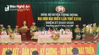 Khai mạc Đại hội đại biểu Đảng bộ huyện Tương Dương lần thứ XXVII, nhiệm kỳ 2020 - 2025