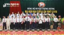 Bế mạc Đại hội đại biểu Đảng bộ huyện Tương Dương khóa XXVII, nhiệm kỳ 2020 - 2025