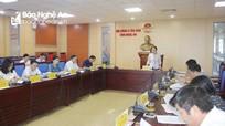 Nhiều kiến nghị sau giám sát của HĐND tỉnh Nghệ An chưa được giải trình làm rõ