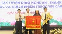 Tọa đàm 'Công tác Tuyên giáo Nghệ An - Thành tựu, bài học và trách nhiệm trước yêu cầu mới'