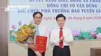 Công bố quyết định điều động, bổ nhiệm Phó trưởng Ban Tuyên giáo Tỉnh ủy Nghệ An