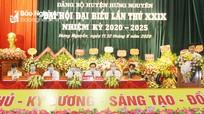 Bế mạc Đại hội đại biểu Đảng bộ huyện Hưng Nguyên nhiệm kỳ 2020 - 2025