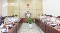 UBND tỉnh yêu cầu đẩy nhanh tiến độ GPMB dự án cải tạo đường dây 110 kV Quỳnh Lưu-Quỳ Hợp