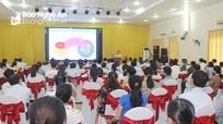 Hơn 450 cán bộ ở Nghệ An tham gia lớp tập huấn công tác Mặt trận