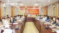 Đoàn đại biểu Quốc hội Nghệ An lấy ý kiến góp ý dự thảo Luật Bảo vệ môi trường (sửa đổi)