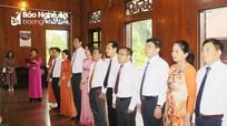 Ban Dân vận Tỉnh ủy dâng hoa, tưởng niệm Chủ tịch Hồ Chí Minh