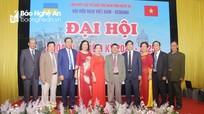 Đại hội Hội Hữu nghị Việt Nam - Ukraina tỉnh Nghệ An khóa III, nhiệm kỳ 2020 - 2025
