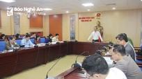 Thẩm tra dự thảo nghị quyết trình kỳ họp thứ 16, HĐND tỉnh nhiệm kỳ 2016 - 2021