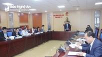 HĐND tỉnh thẩm tra chủ trương đầu tư dự án đường ven biển Nghệ An dài 69 km