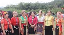 Chủ tịch Ủy ban MTTQ Việt Nam tỉnh Nghệ An dự ngày hội đại đoàn kết tại huyện Con Cuông