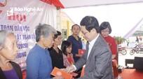 Chủ tịch HĐND tỉnh Nguyễn Xuân Sơn dự Ngày hội Đại đoàn kết tại huyện Nghi Lộc