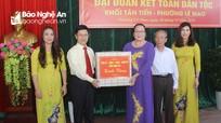 Chủ tịch HĐND tỉnh dự Ngày hội Đại đoàn kết tại thành phố Vinh
