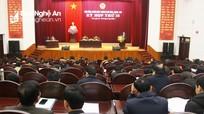 Khai mạc kỳ họp thứ 15 HĐND thành phố Vinh: Mổ xẻ nhiều tồn tại, hạn chế