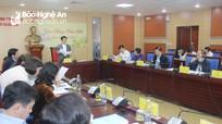 Ủy ban bầu cử tỉnh họp triển khai một số nhiệm vụ thuộc thẩm quyền