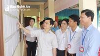 Ủy ban bầu cử tỉnh kiểm tra công tác bầu cử tại huyện Thanh Chương