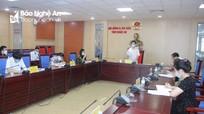 Thường trực HĐND tỉnh Nghệ An bàn nội dung kỳ họp thứ nhất khóa mới 2021 - 2026