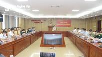 Đoàn đại biểu Quốc hội tỉnh Nghệ An lấy ý kiến góp ý dự thảo Luật Thi đua - Khen thưởng