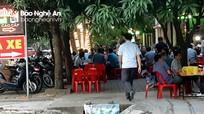 Nhiều vỉa hè ở TP Vinh 'hết lối' cho người đi bộ