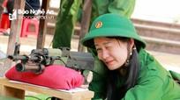 Giáo viên nữ Trường THPT Nguyễn Trường Tộ thi tài trong Hội thao Giáo dục QP - AN
