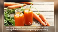 8 loại ngũ cốc và củ quả tốt cho làn da trong tiết trời hanh khô