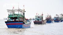 Nghệ An: Tàu  67 vươn khơi trở lại