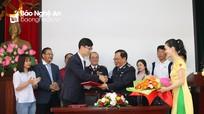 Cục Hải quan Nghệ An ký kết hợp tác với doanh nghiệp