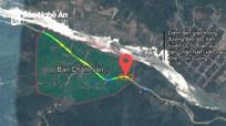 Bạt núi xử lý 'điểm đen' trên đường đèo dốc ở Con Cuông