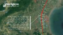 Cắm xong 2.000 cọc mốc giải phóng mặt bằng đường cao tốc Bắc - Nam qua Diễn Châu