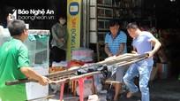 Tiểu thương chợ Hưng Dũng (thành phố Vinh) thiệt hại tiền tỷ sau vụ cháy
