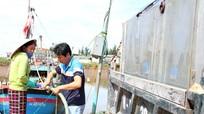 Khát nước sạch vùng ven biển Nghệ An