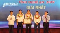 Vinh danh 10 dự án 'Khởi nghiệp đổi mới sáng tạo' tỉnh Nghệ An năm 2019