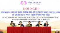 Bí thư Tỉnh ủy Nguyễn Đắc Vinh: Tạo sự bứt phá để Vinh trở thành nơi đáng sống