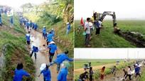 Huy động hơn 130.000 người ra quân làm thủy lợi ở Nghệ An