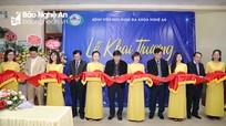 Thành lập Trung tâm Bệnh nhiệt đới tại Bệnh viện HNĐK Nghệ An