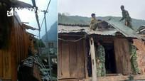 Mưa đá, lốc xoáy tại huyện biên giới Nghệ An làm hàng chục ngôi nhà tốc mái