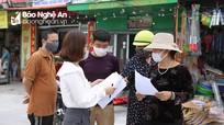 Người dân Nghệ An đồng tình cao việc tiếp tục thực hiện cách ly xã hội
