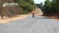 Con Cuông: Hoàn thành tuyến đường hơn 10 năm thi công dang dở