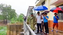 Chủ tịch UBND Thành phố Vinh kiểm tra công tác phòng, chống bão số 2