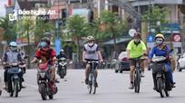 Thành phố Vinh yêu cầu thực hiện nghiêm việc đeo khẩu trang nơi công cộng