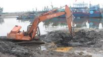 Sau nạo vét, thêm 70 tàu thuyền có thể neo đậu ở Cảng cá Lạch Quèn