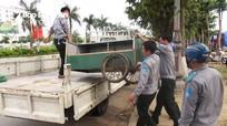Giải tỏa lấn chiếm khu vực cổng Bệnh viện Hữu nghị Đa khoa tỉnh