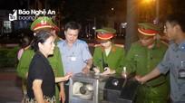 Thành phố Vinh: Lực lượng phản ứng nhanh ra quân xử lý lấn chiếm vỉa hè