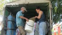 Tân Kỳ: Cấp hơn 5 tấn cá giống trợ giá cho dân