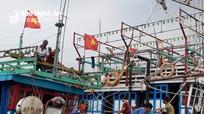 Chưa thể liên lạc được tàu cá Quỳnh Lưu cùng 17 ngư dân