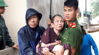 Sơ tán khẩn cấp gần 40 hộ dân ở Con Cuông