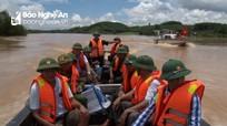 Anh Sơn tập trung khắc phục hậu quả lũ lụt sau bão số 4