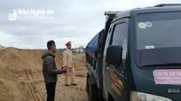 98% cơ sở kinh doanh cát sỏi ở Diễn Châu (Nghệ An) hoạt động trái phép