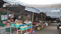 Chợ Vinh vắng hoe ngày cận Tết