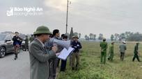 Cưỡng chế giải phóng mặt bằng khu tái dịnh cư dự án đường nối Vinh - Cửa Lò
